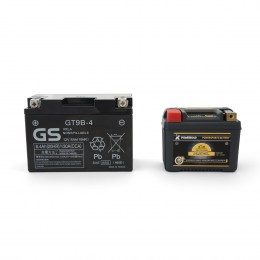 PLFP-7L  - confronto con una batteria al piombo acido equivalente