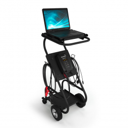 TROLLEYPRO con MXTS40 e laptop