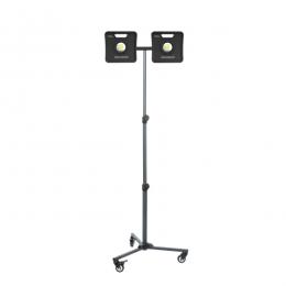 STAFFA DOPPIA in uso (lampade escluse)